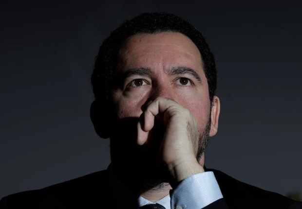 Ministro do Planejamento, Dyogo Oliveira, durante coletiva de imprensa em Brasília (Foto: Ueslei Marcelino/Reuters)