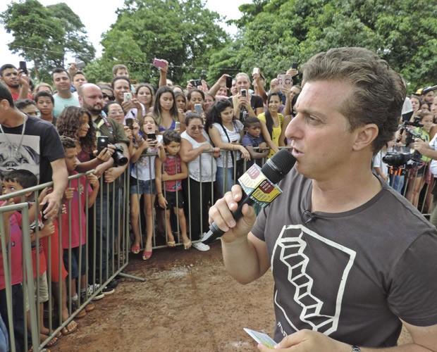 Luciano em Foz (Foto: Divulgação/revistasemfronteira)