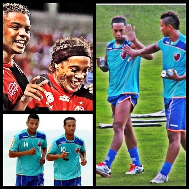 David Braz e Ronaldinho
