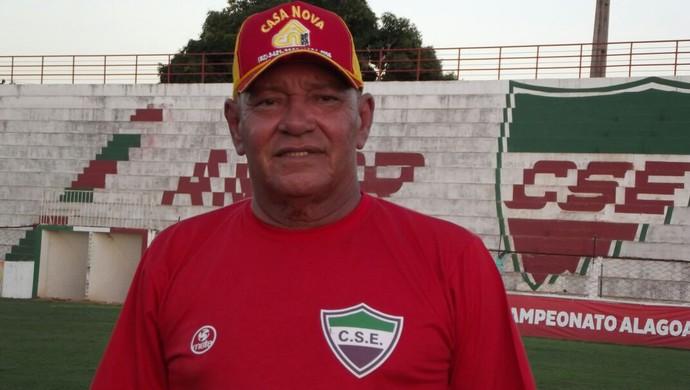 Freitas Nascimento, técnico do CSE (Foto: Romário Silva/Arquivo Pessoal)