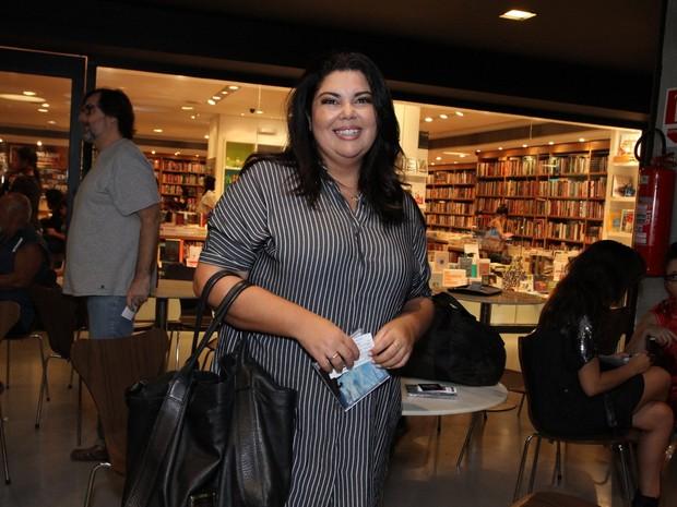 Fabiana Karla em première de filme na Zona Sul do Rio (Foto: Thyago Andrade/ Brazil News)
