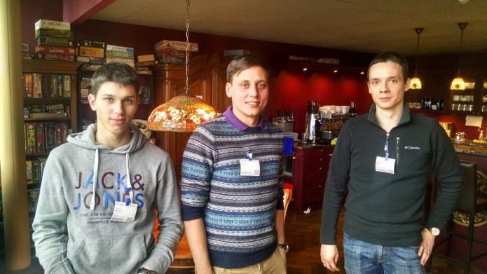 Os três maiores descobridores de bugs em visita ao Google em Zurique, na Suíça (Foto: Reprodução/Google)