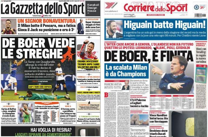 Frank de Boer Inter de Milão (Foto: Reprodução)