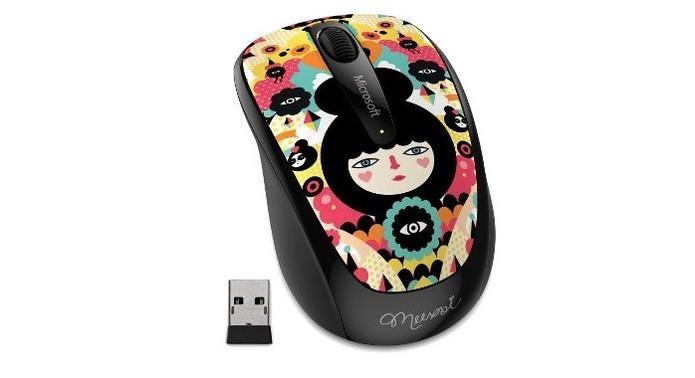 Estão disponíveis modelos customizados de mouses (Foto: Divulgação/Microsoft)