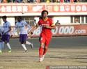 Marcelo Moreno faz três, mas seu time empata em jogo de oito gols na China