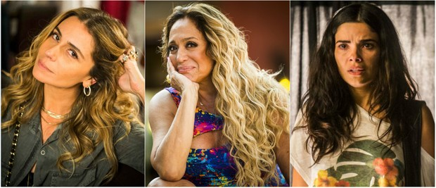 'A regra do jogo': cabelos com volume e ondas naturais sãos os hits da estação (Foto: TV Globo/Divulgação)