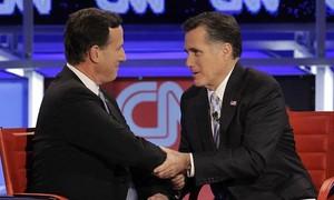 Santorum declara apoio a Romney nas prévias do Partido Republicano