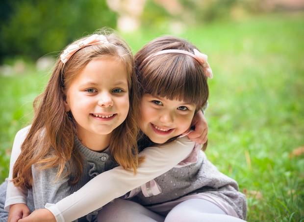amizade crianças (Foto: shutterstock)