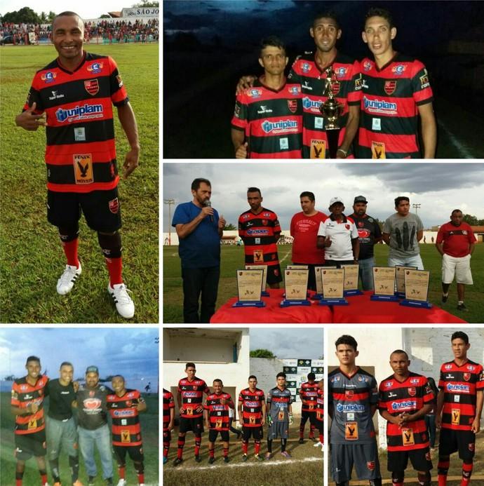 Amistoso Flamengo-PI em São João do Piauí (Foto: Luís Júnior)