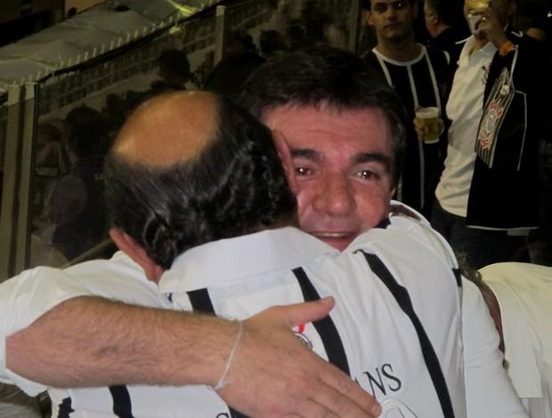 Andrés Sanches e Luiz Paulo Rosenberg Corinthians