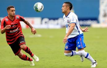 Oeste cede empate para o Bahia e mantém jejum de vitórias na Série B