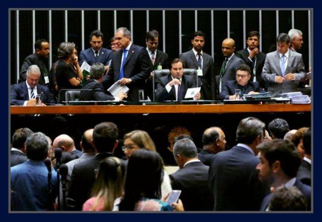 Câmara dos Deputados, sessão de 30/11/2016 (Foto: Orlando Brito)