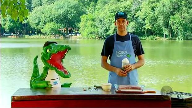 Empresário José Roberto ensina os truques para fazer esse receita deliciosa (Foto: Reprodução EPTV)