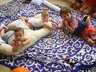 Pedro Scooby posta foto dos filhos com Piovani: 'Não consigo ficar longe'