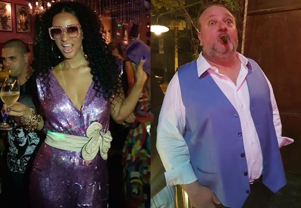 Rosangela Menezes Jacquin e Érick Jacquin  (Foto: QUEM)