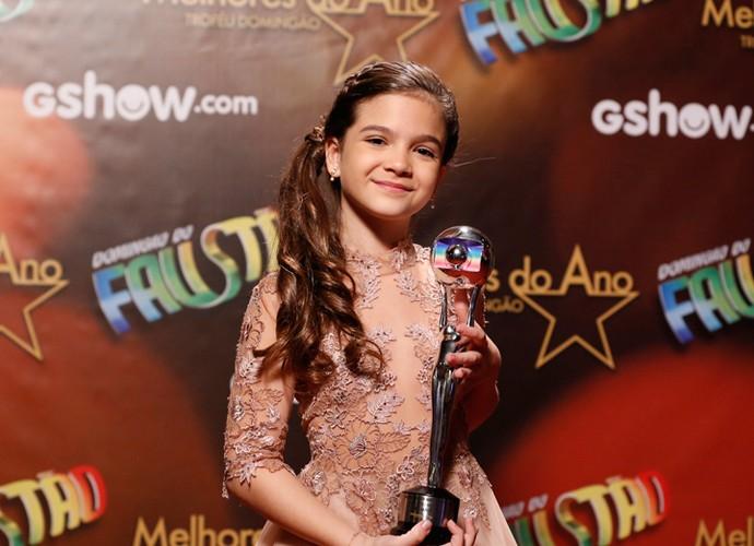Mel Maia vence o Melhores do Ano (Foto: Ellen Soares / Gshow)