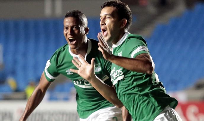 Néstor Camacho, Deportivo Cali 1 x 1 O'Higgins, Libertadores (Foto: EFE)