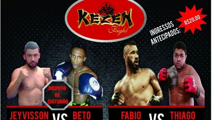 Kezen Fight será realizado em Toritama (Foto: Divulgação / Assessoria)
