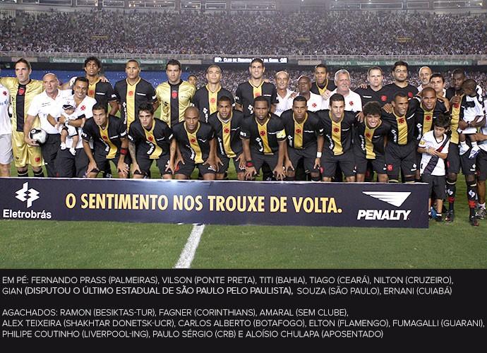 Time Vasco campeão 2009 Serie B (Foto: Ivo Gonzalez  / Agência O Globo)