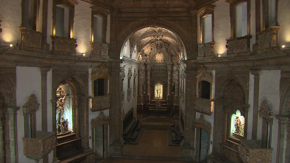 Igreja de São Pedro dos Clérigos já foi catedral (Foto: Reprodução/TV Globo)