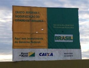 estádio de tarauacá (Foto: Duaine Rodrigues)