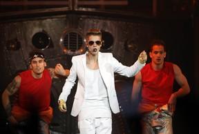 Justin Bieber se apresenta em Lisboa, em Portugal (Foto: Hugo Correia/ Reuters)
