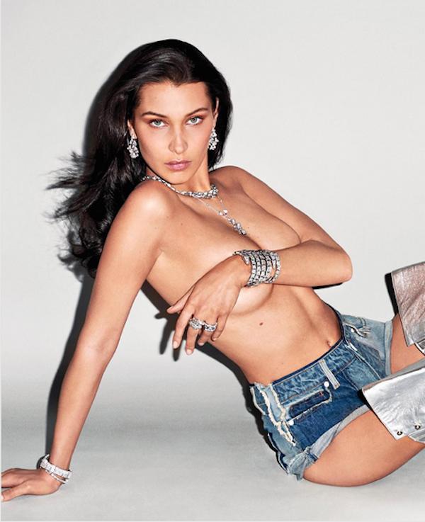 A modelo Bella Hadid (Foto: Instagram)