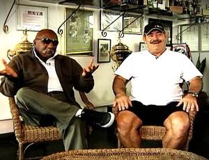 Paulo César Caju e Rivellino  (Foto: Reprodução/TV Globo)