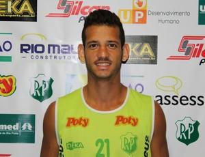 Lucas Newiton Moreira, novo lateral-direito do América-RN (Foto: Divulgação/Rio Preto Esporte Clube)