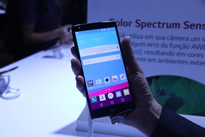 LG G4 (Foto: Nicolly Vimercate/TechTudo)
