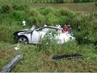 Jovem morre após colisão entre carro e carreta na BR-101, diz PRF