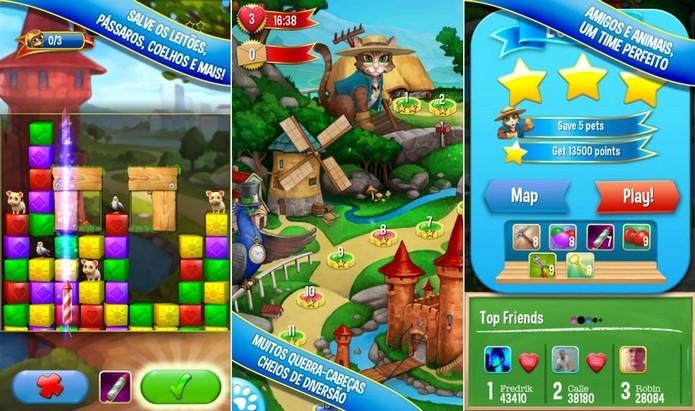 Pet Rescue Saga é do mesmo desenvolvedor que Candy Crush (Foto: Divulgação)