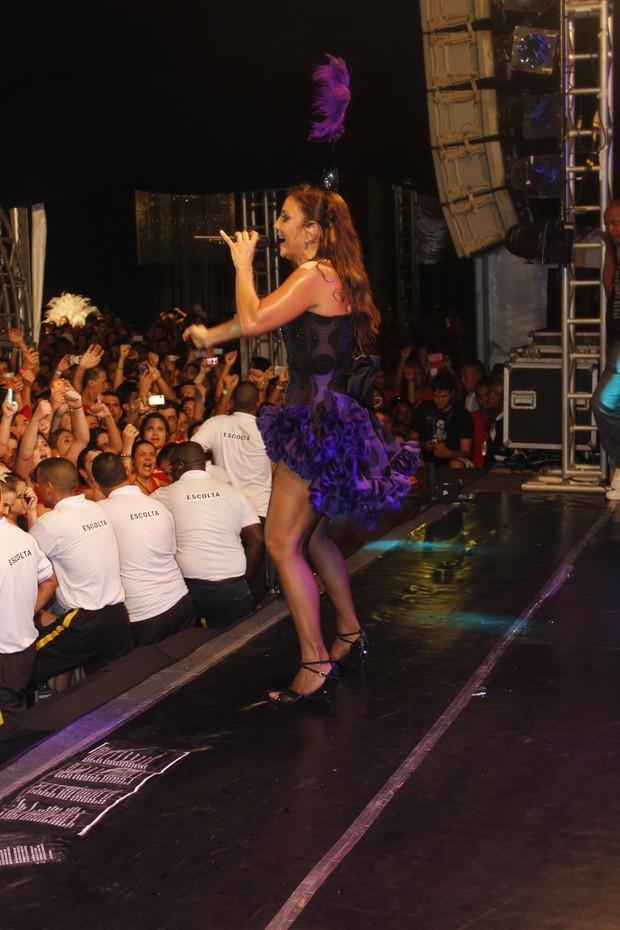 Ivete Sangalo em sua apresentação em Salvador (Foto: Fred Pontes/Divulgação)