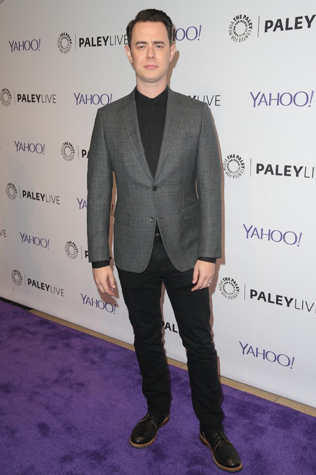 Colin Hanks: mix de casual com formal de maneira precisa (Foto: Getty Images)