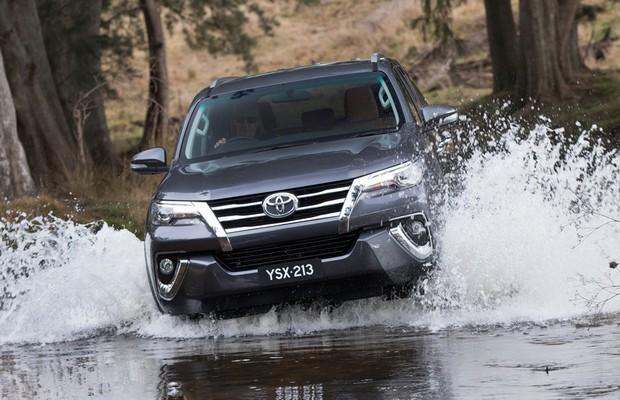 Novo Toyota SW4 (Foto: Divulgação)