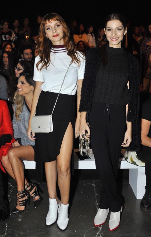 As gêmeas Giselle e Michelle Batista (Foto: Samuel Chaves/Brazil News)