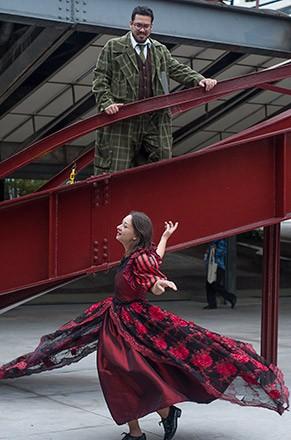Ulisses Molly Bloom, Dançando para Adiar (Foto: Sueli Almeida)
