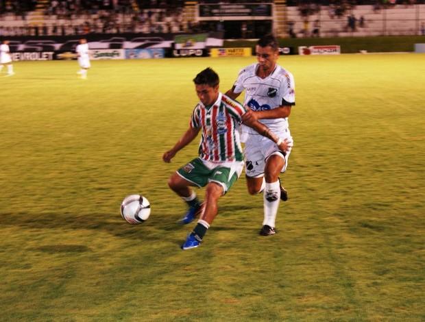 ABC x Baraúnas, no Estádio Frasqueirão (Foto: Augusto Gomes)