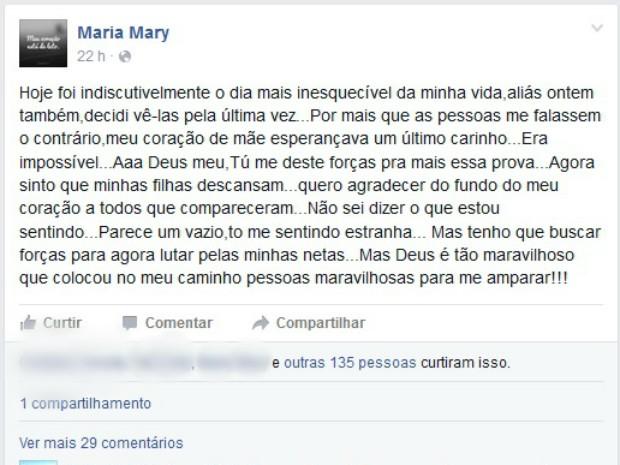 Brasileiras mortas no Japão são cremadas um mês após assassinato (Foto: Reprodução/Facebook)