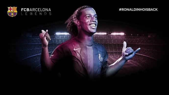 Ronaldinho Gaúcho, Barcelona (Foto: Reprodução / fcbarcelona.cat)