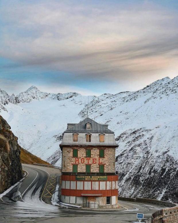 Conheça os lugares que parecem ter saído dos filmes de Wes Anderson (Foto: Reprodução Instagram @accidentallywesanderson)