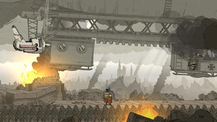 A interação com os cenários é um dos pontos altos do game. (Foto: Reprodução)