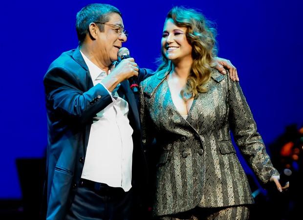 Zeca Pagodinho e Maria Rita (Foto: Manuela Scarpa/Brazil News)