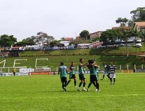 Comercial vence seleção de Morungaba em jogo-treino (Foto: Paulo Bahia / Comercial FC)