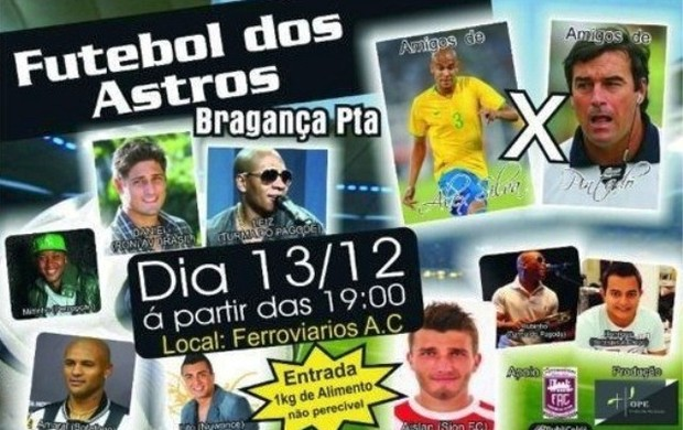 Banner Jogo Alex Silva Pintado (Foto: Divulgação)