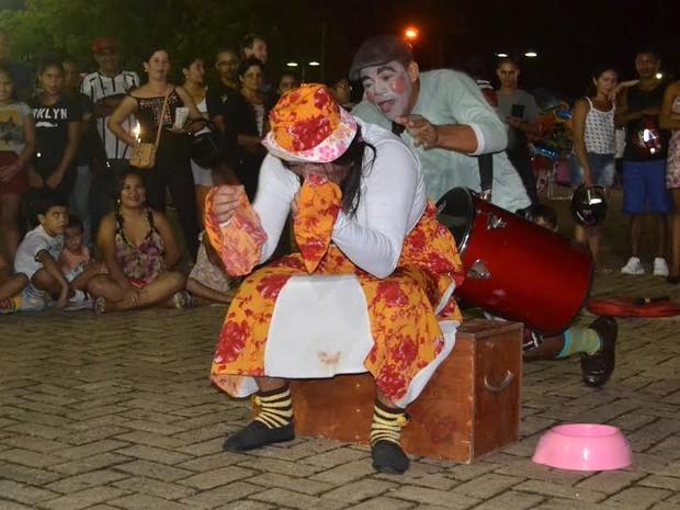 Grupo Evolução vai apresentar peça na Praça Aluizio Ferreira (Foto: Evolução/divulgação)