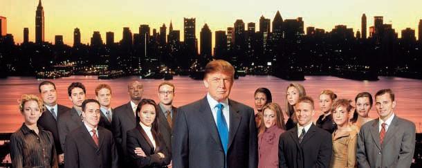 Donald Trump na primeira temporada de 'O Aprendiz' (Foto: Divulgação)