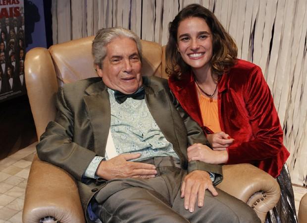 Domingos de Oliveira e Priscila Steinman (Foto: Thyago Andrade/Brazil News)
