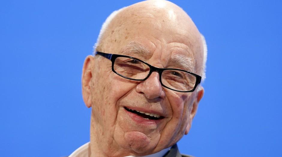 O australiano radicado americano Rupert Murdoch é um magnata das telecomunicações (Foto: Divulgação)