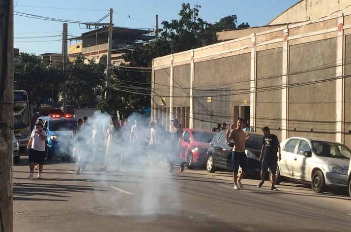 Vasco São Januário protesto torcida (Foto: Edgard Maciel de Sá)